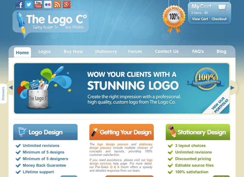 The Logo Company Web Design