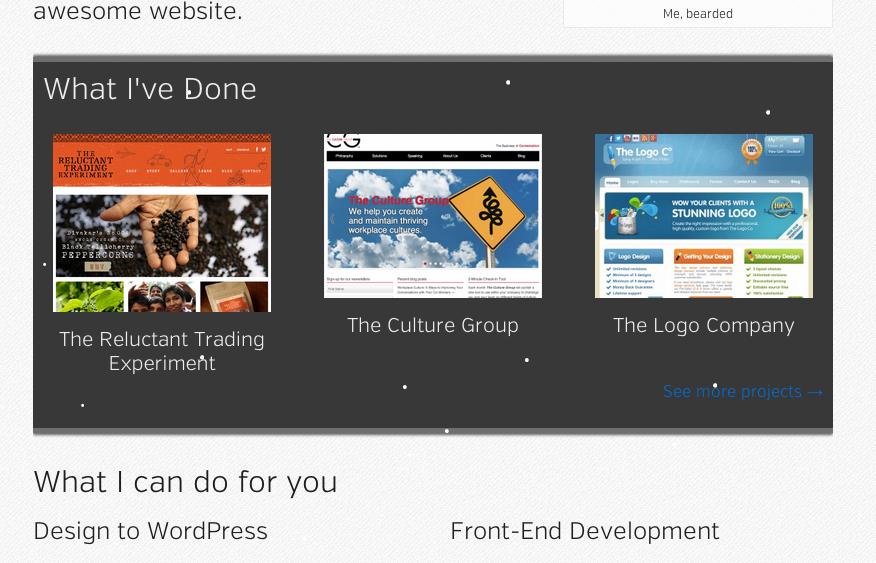 Snowy homepage
