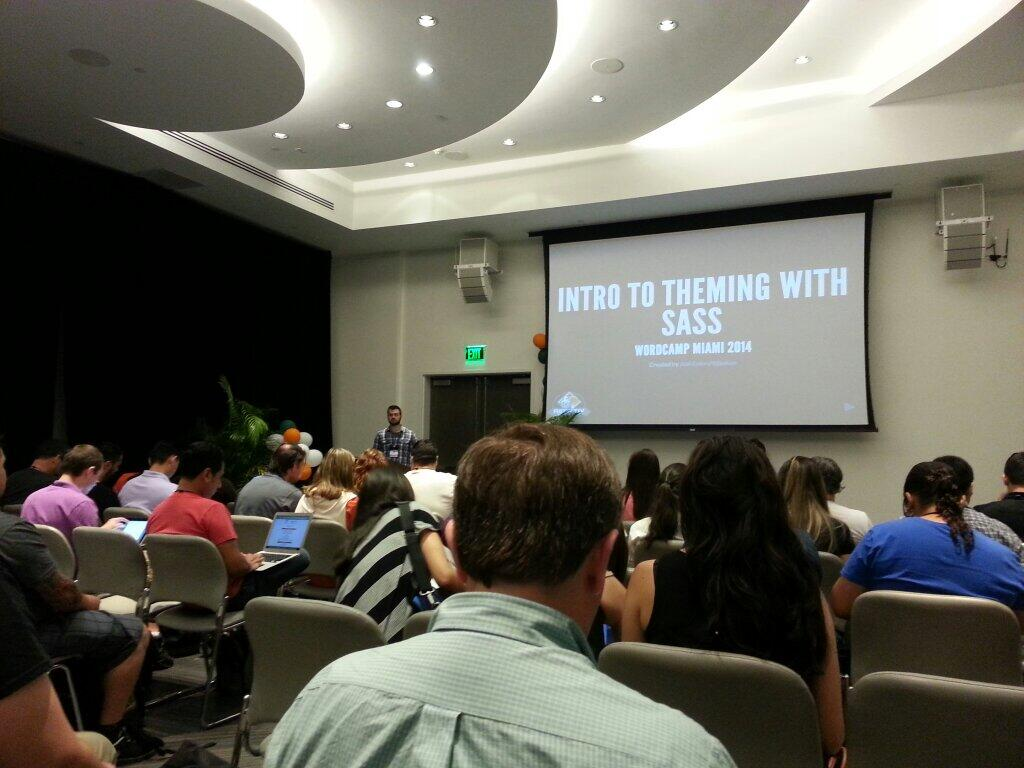 WordCamp Miami 2014: Intro to Theming with Sass